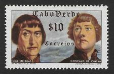 Cape Verde 10c Scott # 278 - 1952 - ' Vicente Dias and Goncalo de Cintra ' (C1)
