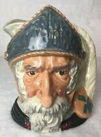 ROYAL DOULTON LARGE CHARACTER JUG Don Quixote D.6455