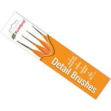 Humbrol Detail Brushes (4 Pack) AG4301 NEW