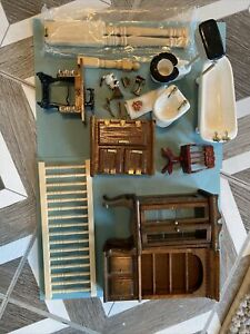 dollhouse miniatures lot vintage