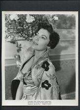 BEAUTIFUL AVA GARDNER AS THE BAREFOOT CONTESSA - 1954 VINTAGE PHOTO