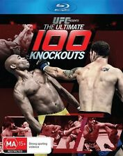 UFC - The Ultimate 100 Knockouts (Blu-ray, 2014) Region B