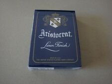 ARISTOCRAT BANK NOTE 727 BLUE PLAYING CARDS BY THEORY 11 LIKE BICYCLE NEW