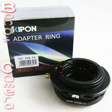 Kipon Tilt & Shift Nikon F Mount AI Lens to Fujifilm FinePix X-Pro1 E2 X Adapter
