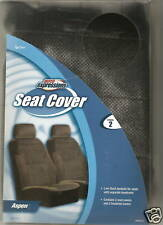 2 FORD TOYOTA BUCKET SEAT COVERS CAR TRUCK ASPEN BLACK
