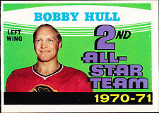 Autograph Bobby Hull Not Authenticated Hockey Trading Cards