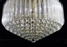 MCM  SUBSTANTIAL  LUCITE/ACRYLIC WEDDING CAKE 349 PRISM & BALL CHANDELIER -