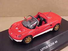 Maxicar 1/43 Diecast, Lotus Elise 49 Open Top Spyder, LHD, Red   #10141