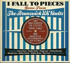 I FALL TO PIECES GEMS FROM THE BRUNSWICK UK VAULTS - 3 CD BOX SET