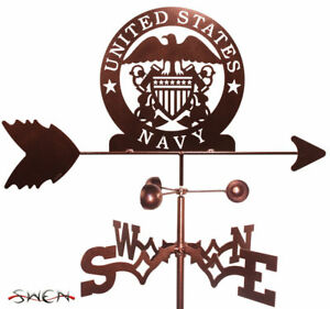 SWEN Products ARMED SERVICES US NAVY NAVAL ACADEMY USN Steel Weathervane