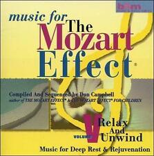 FREE US SH (int'l sh=$0-$3) ~LikeNew CD : Music For The Mozart Effect, Volume 5,