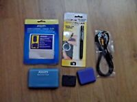 Small job lot of camera photography accessories - leads - sensor cleaner etc