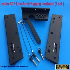 rigging hardware for RCF, line array , herrajes para bocinas aereas