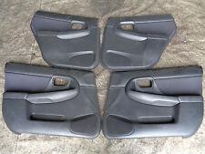 Subaru Impreza WRX turbo bugeye newage 2001-2005 full set of x 4 doorcards