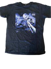Eminem Slim Shady Concert Shirt Liquid Blue Men's Size T-Shirt New Size Medium