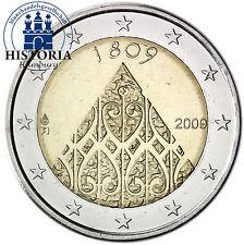 Finlande 2 euro pièce commémorative 2009 BFR. 200. anniversaire de l'autonomie