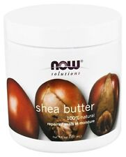 Now Foods Solutions 100% Natural Shea Butter - 7 oz (207ml) Skin Moisturizer