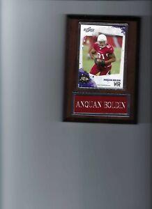 ANQUAN BOLDIN PLAQUE ARIZONA CARDINALS FOOTBALL NFL   C
