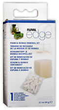 Fluval Edge FOAM AND BIOMAX RENEWAL KIT Replacement Aquarium Fish Tank