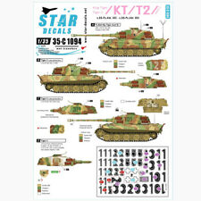 Star Decals 1/35 KT/T2 King Tiger/Tiger II Pt.2 decals