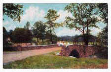 RARE 1907-1915 Antique Bridge at the Golf Club Buck Hill Falls PA Poconos Course