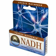 Source Naturals NADH 5mg Co-E1 Enteric Coated Blister Pack/Box 30 tab