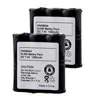 2Pcs HNN9044A 1000mAh Battery For Motorola HNN9056 Spirit SP10 P10 SP21 SP50 USA