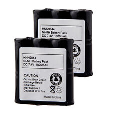 2pack HNN9044A 1000mAh Battery For Motorola HNN9056 Spirit SP10 P10 SP21 SP50