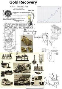 Gold Goldgewinnung Goldwaschen Technik auf 5800 S.