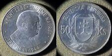 Slovakia : 1944 50 Kr  BU # 10   IR4449