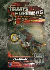 Rare Limited Transformers Generations Deluxe Class Junkheap aka Wreckers GREAT