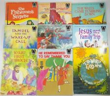 ARCH Books Christian Children's Books Learning Bible Stories  Lot of 9
