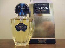 GUERLAIN 'SHALIMAR' EAU DE TOILETTE SPRAY- VINTAGE NEW IN BOX - 1 OUNCE / 30 ML