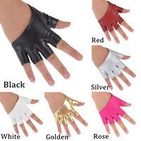 Fingerless Beauty Half Finger Gloves Women Lady Driving Show Pole Dancing