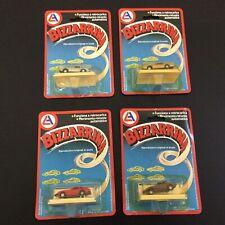 80s Vintage#  4x LJN SPEED RIDERS Ales 80S 4X Bizzarrina Miniature Breach Cars