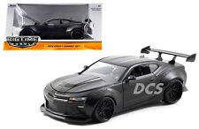 JADA  BIGTIME 2016 CHEVY CAMARO WIDE BODY 1/24 WITH GT WING MATTE BLACK 98139BK