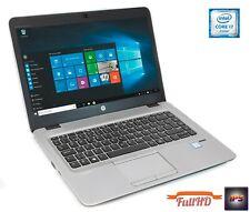 """HP EliteBook 840 G3 14"""" i7-6600u 8GB 256GB SSD 14 1080p FullHD IPS DE Tastatur"""