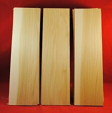 "27 Hickory Thin Boards Lumber Wood 1/4"" x 3-1/2"" x 12-1/2"""