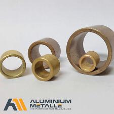 Sinterbronze Buchse Ø 5x10x10mm Gleitlager für 5mm Welle 5/10x10 Zylinderlager