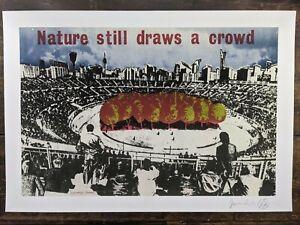 Jamie Reid Nature Still Draws a Crowed Signed Ltd edition fine art print 5/300.
