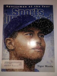 Sports Illustrated Tiger Woods Sportsman Of The Year December 23 1996