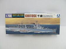 MES-44816 Aoshima 01498 1:700 Chitose Bausatz geöffnet,augenscheinlich komplett,