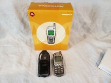 Motorola Timeport 280 Silver Retro Cell Phone - In Box