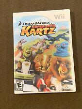 Nintendo Wii Video Game Dreamworks Super Star Kartz ActiVision Rated E