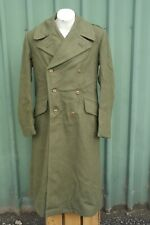 Australian Army Great Coat / Trench Coat  Size 9 Vietnam Era, Heavy Wool, NOS.