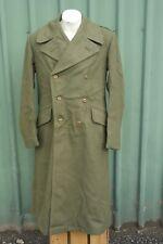 Australian Army Great Coat / Trench Coat  Size 11 Vietnam Era, Heavy Wool, NOS.