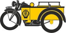 Oxford Die-Cast - 1/148 Modelo - motocicleta y Sidecar - AA