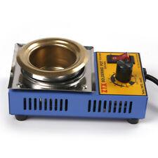 Stainless Steel Solder 50mm Dia Pot Solder Thermostat Melting Furnace 160W 220V