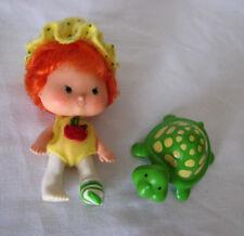 Strawberry Shortcake Apple Dumplin 1979-white legs-flat hands-Tea Time Turtle