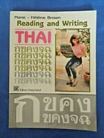Reading and Writing Thai Marie-Helene Brown Read Speak Learn Language Thailand